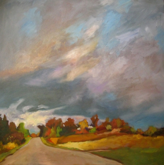 October Sky on the 6th 36x36
