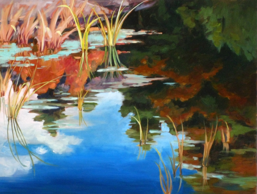 Our Creek 40x30