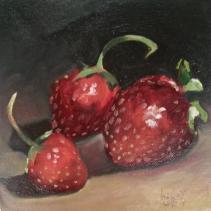 Strawberries 6x6