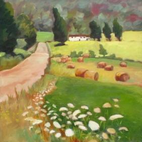 Downer's Road 24x24