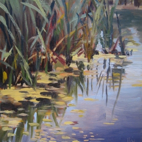 Water Grasses (sold)