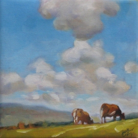 Hilltop Cows (sold)