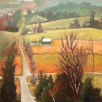 Fall Hills 36x36